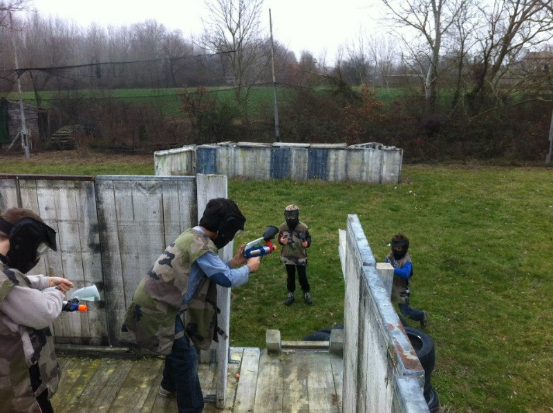 terrain clermont le fort 31 aventure paintball park